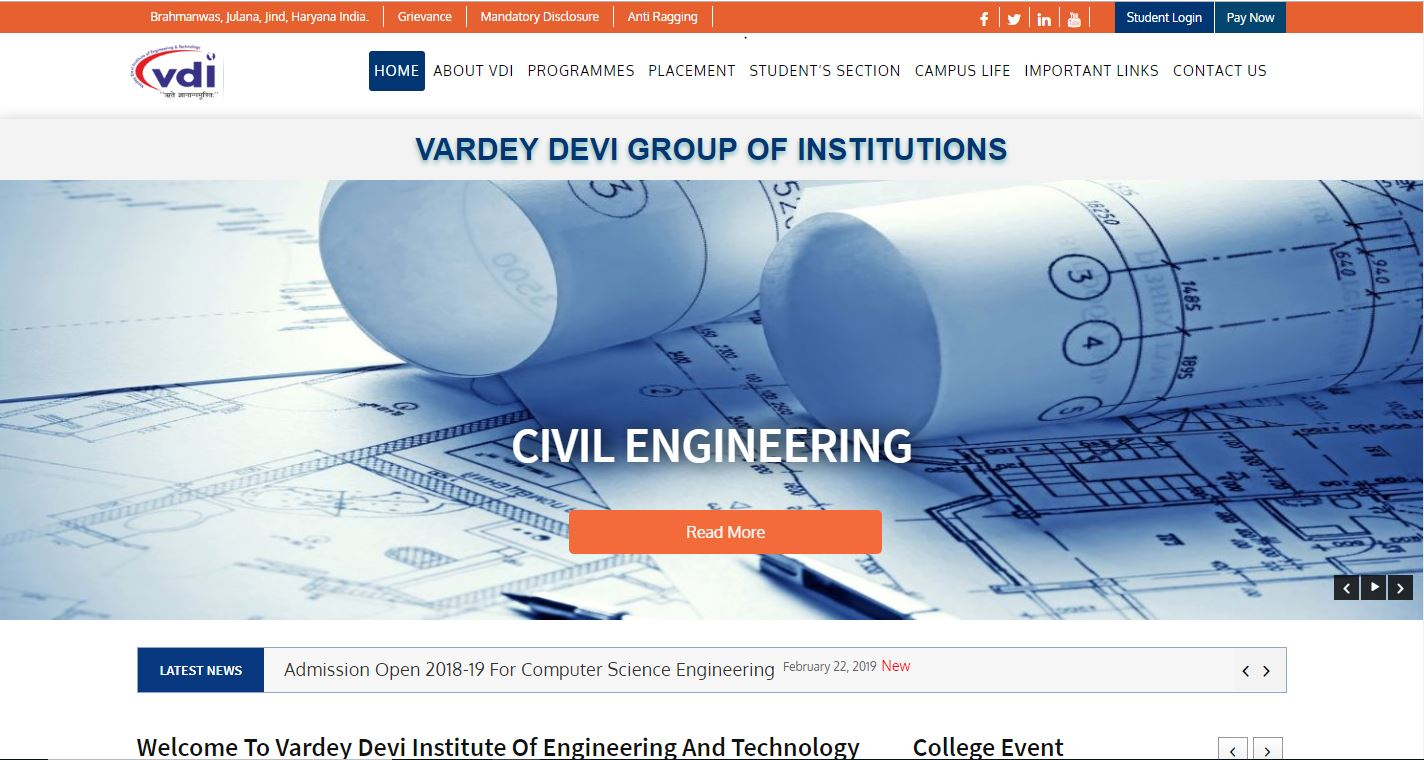 VARDEY DEVI GROUP OF INSTITUTIONS